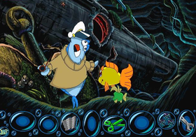 Freddi Fish: The Case of the Haunted Schoolhouse Screenshot from Shacknews