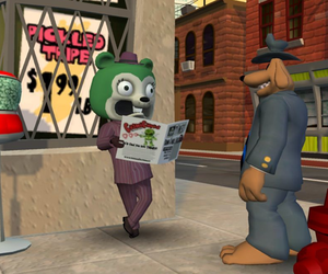 Sam & Max Episode 103: The Mole, the Mob, and the Meatball Screenshots