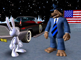 Sam & Max Season 1 Episode 106: Bright Side of the Moon Screenshot from Shacknews