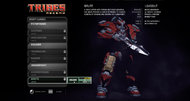 Tribes: Ascend beta interface screenshots