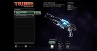 Tribes: Ascend beta interface screenshots