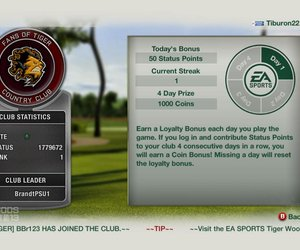 Tiger Woods PGA Tour 13 Chat