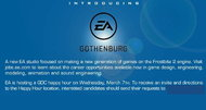 EA opens Gothenburg studio to develop Frostbite 2 games