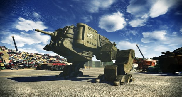 Steel Battalion: Heavy Armor MS Spring Showcase 2012 screenshots