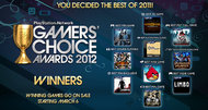 PlayStation Network 'Gamers Choice' winners announced
