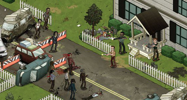 Walking Dead social game topstory