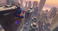 Amazing Spider-Man trailer runs atop a bus