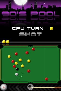 90's Pool Screenshots