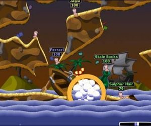 Worms 2 Screenshots