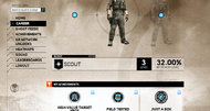 Tom Clancy's Ghost Recon Network announcement screens