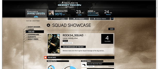 Tom Clancy's Ghost Recon Network News