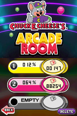 Chuck E. Cheese's Arcade Room Files