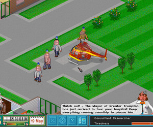 Theme Hospital Chat