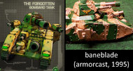 C&C Tiberium Alliances tanks similar to Warhammer 40K