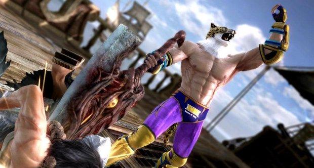 Tekken King Mask Soul calibur 5 offering tekken