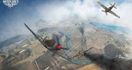 World of Warplanes heavy fighters screenshots