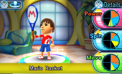 Mario Tennis Open Screenshots