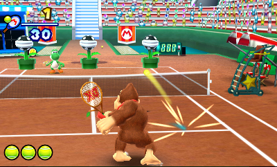 Mario Tennis Open Chat