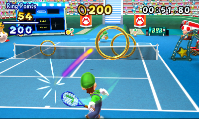 Mario Tennis Open Screenshots
