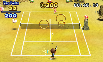 Mario Tennis Open Chat