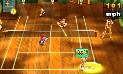 Mario Tennis Open Files