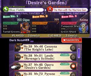 Theatrhythm Final Fantasy Screenshots