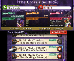 Theatrhythm Final Fantasy Videos