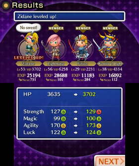 Theatrhythm Final Fantasy Screenshot from Shacknews