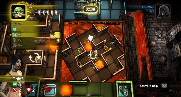 Dungeon Twister screenshots