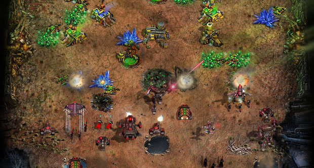 Command & Conquer Tiberium Alliances screens