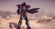 PlanetSide 2 MAX suit art and screenshots
