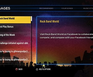 Rock Band Blitz Screenshots