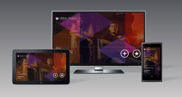 Xbox Music E3 2012 screenshots