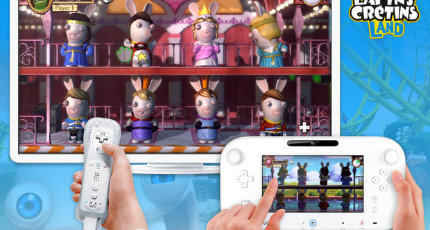 Rabbids Land E3 2012 screenshots