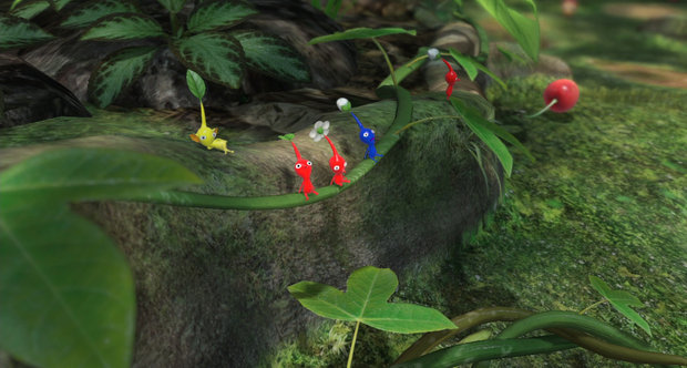 Pikmin 3 announcement screenshots HD