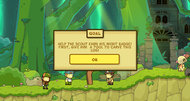 Scribblenauts Unlimited announcement screenshots