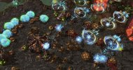 StarCraft 2: Heart of the Swarm matches shown