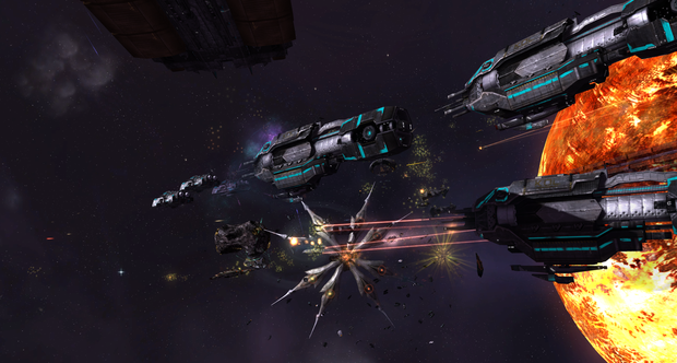 Sins of a Solar Empire: Rebellion launch screenshots