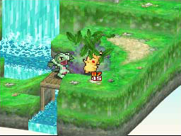 Pokemon Conquest Screenshots