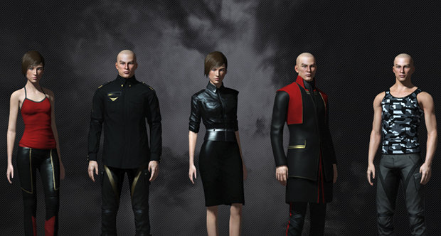 Eve Online Cautiously Adding New Avatar Clothes Shacknews