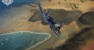 World of Warplanes carrier aircraft screenshots