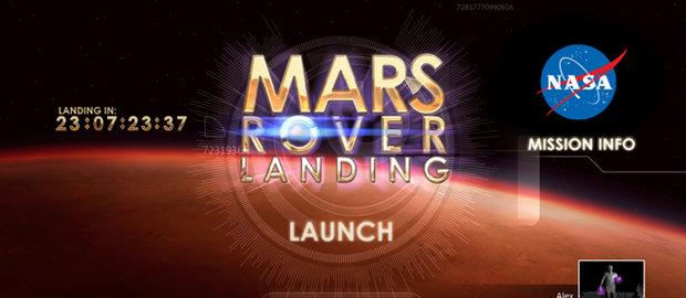 Mars Rover Landing News
