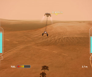 Mars Rover Landing Screenshots