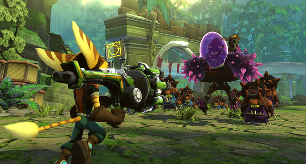 Ratchet &amp; Clank: Full Frontal Assault screenshots