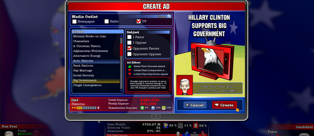 The Political Machine 2012 Screenshots DigitalOps
