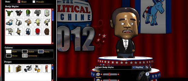 The Political Machine 2012 News