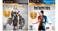 Infamous, God of War collections announced