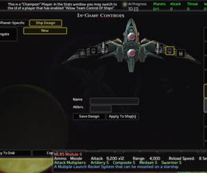 AI War: Fleet Command Chat