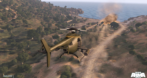 Arma 3 GamesCom 2012 screenshots