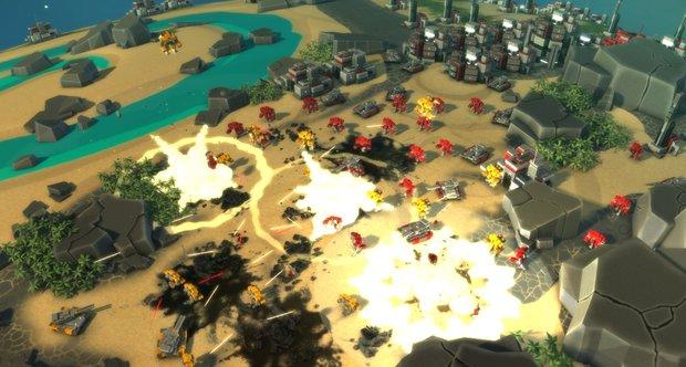 Planetary Annihilation screenshots